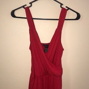 NEW YORK & COMPANY Red Sleeveless Dress with Tags